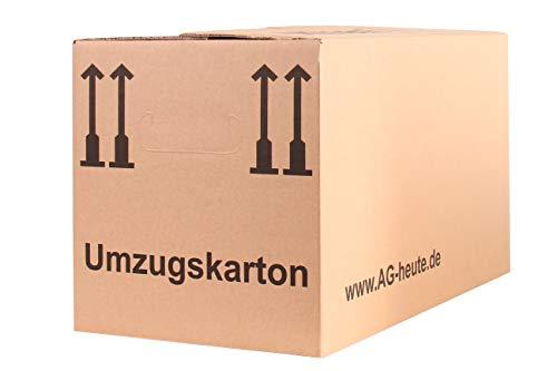 A&G-heute Autobottom 30 Stück Umzugskartons 600 x 325 x 340mm Faltkartons Umzugskisten 2-wellig Halbautomatikboden