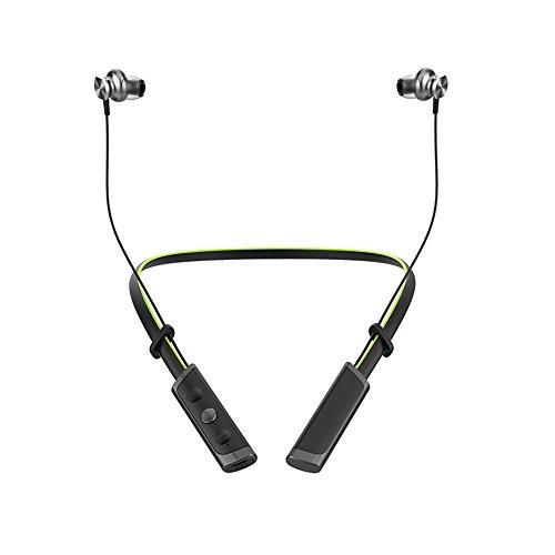 BANNAB Sports Waterproof Bluetooth Headphones Mini Metal Wireless In-Ear Headset mit 9 Stunden Spielzeit für Handy,Green