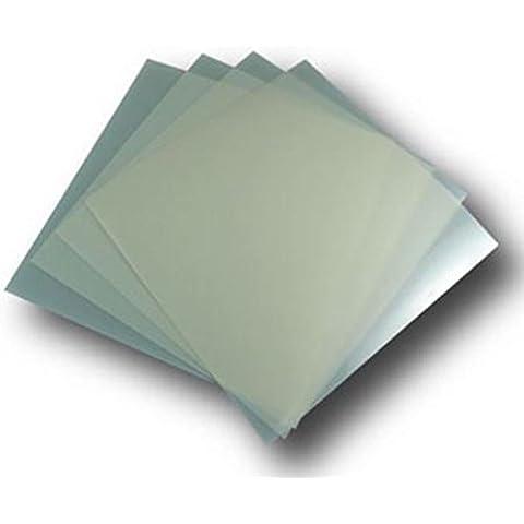 Hojas de tereftalato de polietileno iridiscente 25 x folios tamaño A4 de 190 micras