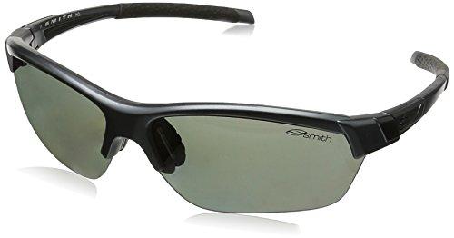 Smith Optics Sport (Smith Optics Approach Max Sonnenbrille, damen, Matte Graphite, Polarized Platinum/Ignitor)