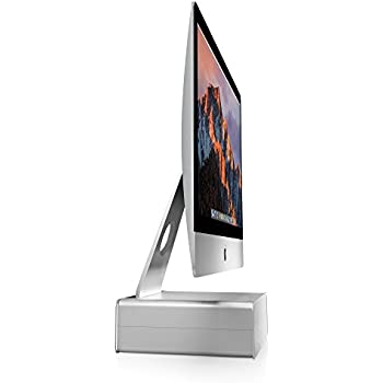 Twelve South HiRise for iMac   Height-adjustable stand with storage for iMac and Apple Displays