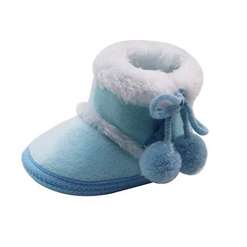 Sanahy_baby Stiefel, Winter Baby Weiche und warme rutschfeste Sohlenschuhe Baby Kleinkind Stiefel aus Schnee