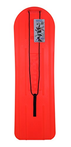 axiski Ski und Snowboard Ganzjahresboard orange für Frostrasen Schnee Sand