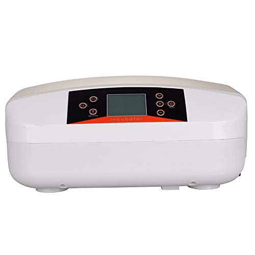 SISHUINIANHUA 56 Chicken Duck Eggs Incubator Vollautomatisches LED-Licht Digital Turning mit Kerzenlicht 110V / 220V