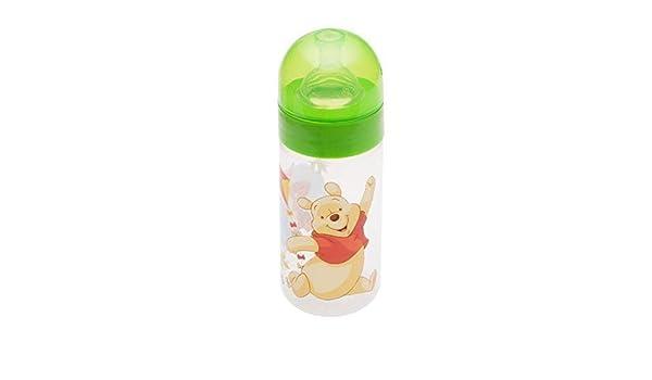 2 er Set Disney Winnie Pooh grün Baby Weithalsflasche 125 ml+250 ml ab 0 Monate
