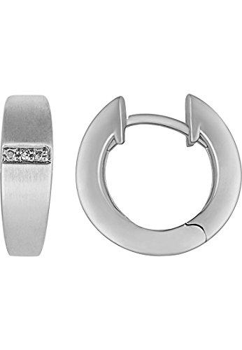 christ-silver-diamonds-damen-creole-silver-diamonds-925er-silber-ca-0006-ct-one-size-silber