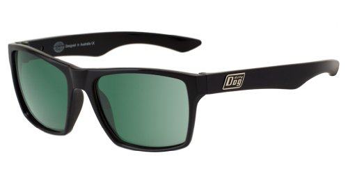Held Sunglasses, polarisé Noir/Vert