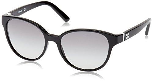 DKNY Damen DY4117 300111 Sonnenbrille, Schwarz (Black), One size (Herstellergröße: 55)