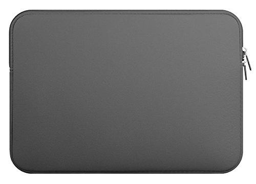 Preisvergleich Produktbild 14 Zoll-Laptop-Hülsen-Beutel Laptoptasche Bewegliche Computer-Beutel Tablette-Hülsen Kleiner Computer-Zusatz-Fall, Grau
