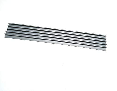 bum24 CD FLIP, grau, aus Hart-PVC, 537 x 80 x 13 mm, mit doppelseitigem Klebeband -