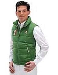 USG United Sportproducts Steppweste Billy - Chaleco de hípica, color marrón, talla DE: 46 (S)