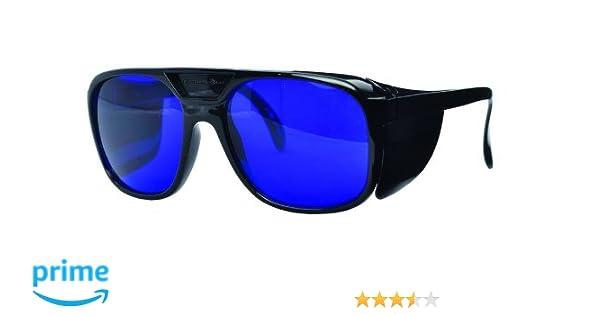 18ee6ab2207 Golf Ball Finder Lunettes Surligner Blanc Lunettes de Soleil Bleu ...