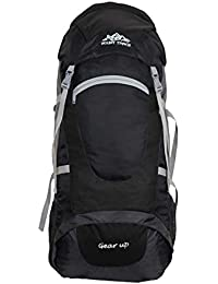 MOUNT TRACK 75L Rucksack, Hiking and Trekking Backpack(Black)