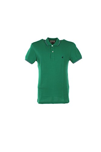 Preisvergleich Produktbild Polo Uomo Brooksfield 56 Verde 201a.b002 Primavera Estate 2017