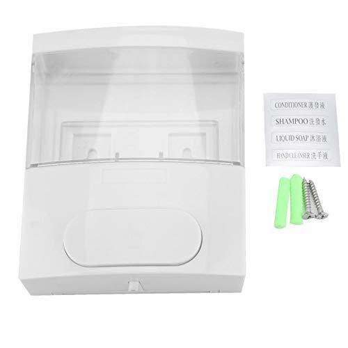 WSLWJH Seifenspender Zur Wandmontage 300 Ml Kunststoff Wand Seifenlotion Flüssigkeit Shampoo Dispenser Für Home Hotel Restroom Tool Professional -