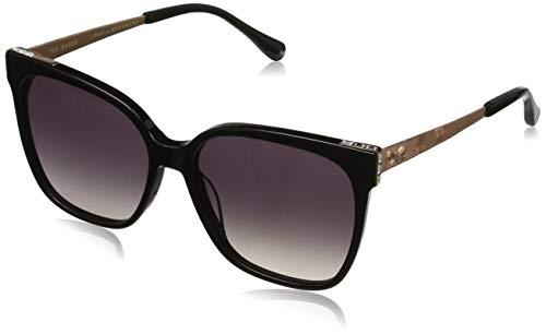 Ted Baker Damen Skye Sonnenbrille, Schwarz (Black/Grey), 56.0