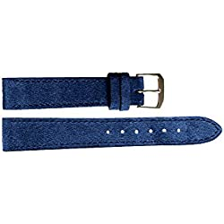 Wildlederband Blau | 18 mm