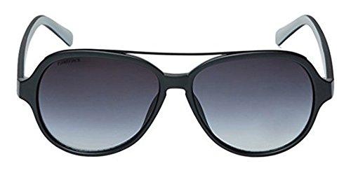 Fastrack Guys 100% UV Protection Black Sunglasses - P319BK2 # image