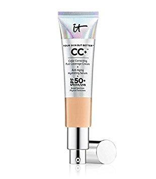 It Cosmetics Creme Your Skin But Better CC+, Lichtschutzfaktor 50+, leicht, 32 ml - mittlere Bräune