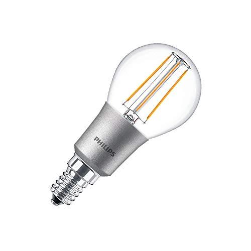 Bombilla LED E14 P45 Regulable Filamento Luster CLA 4.5W Blanco Cálido 2700K efectoLED
