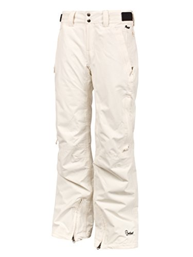 Protest Rising Women's Snow Pants 14 gebrochenes weiß Seashell XL (Snow Pants Women 14)