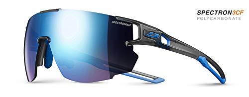 Julbo aerospeed Gafas de Sol Hombre, translu Grey/Azul/Azul