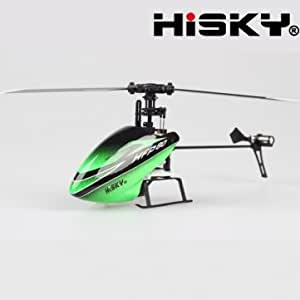 HISKY HFP80 V2 4CH 2.4G Flybarless 6 Axis Gyro RC Helicopter BNF