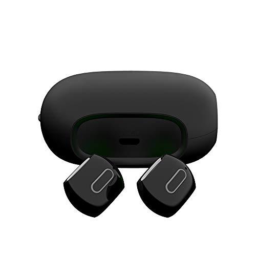 Fenebort Bluetooth-Headset mit Mikrofon, kabellos, Ladeschale