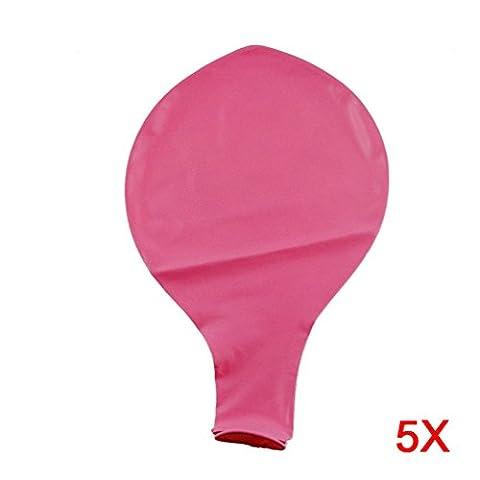 Hrph 5pcs Schlag 36 Zoll Kugelballon Helium Aufblasbare Big Latexballons für eine Geburtstagsparty Dekoration oben