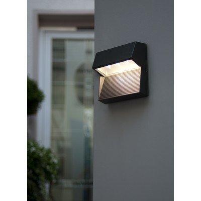 LED-Außenwandleuchte 3-flammig Radius Farbe: Anthrazit von Eco Light bei Lampenhans.de