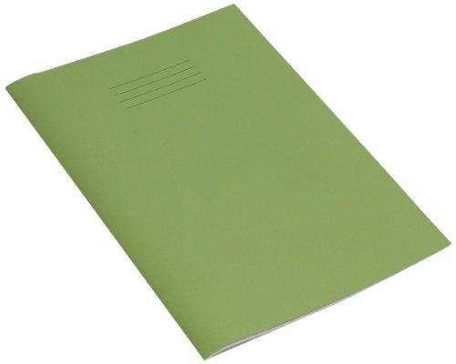 confezione da 10 colore: Rosso Rhino 48 pagine Quaderno per esercizi a quadretti da 10 mm