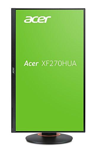 "Best Acer XF270HUAbmiidprzx 27"" WQHD, IPS ZeroFrame Gaming Monitor with FreeSync, DVI-DL, 2xHDMI, DP, USB 3.0 Hub, Acer EcoDisplay Online"