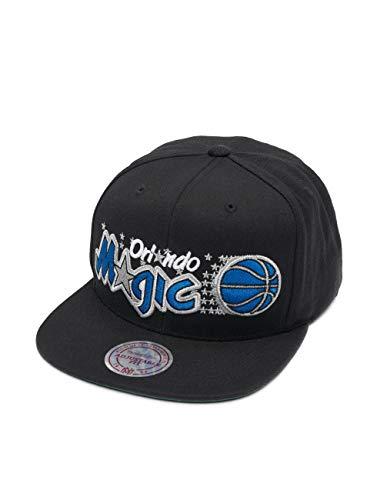Mitchell & Ness Herren Snapback Caps NBA Orlando Magic Wool Solid schwarz Verstellbar