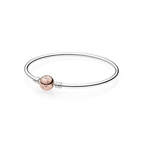 Pandora bracciale rigido 19 cm rose