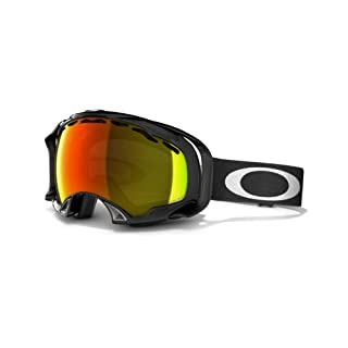 Oakley Schneebrille Splice, Jet Black W/Fire Polarized, 57-281