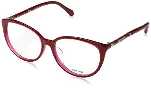 Roberto Cavalli Damen RC0963 068-58-16-145 Brillengestelle, Rot, 58 - Brillengestell