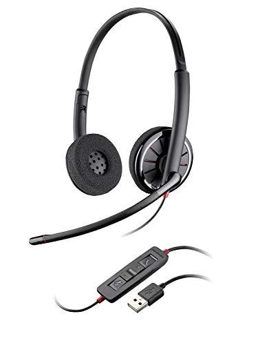 e C320-M Foam Stereo Over-Ear Kopfhörer mit Mikrofon (USB) ()