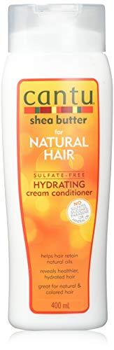 Cantu - Feuchtigkeitsspendende Spülung mit Sheabutter - Sulfatfreie Pflege-Spülung für Locken und strukturiertes Haar - 1er Pack (1 x 400ml)