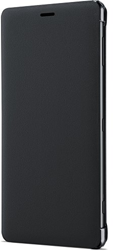 Sony Genuine Official Style Flip Cover Case SCSH40 for Xperia XZ2 - Black