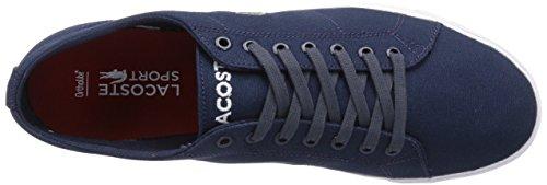Lacoste Marcel Lcr2, Chaussons Sneaker Homme Bleu (Dk Blu/Dk Blu Db4)