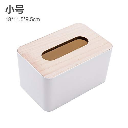 otel Esszimmer Massivholz Eiche Abdeckung Abdeckung Gewebe, Papier, Pumpen, wc Auto Nordic einfache Tissue Box ()
