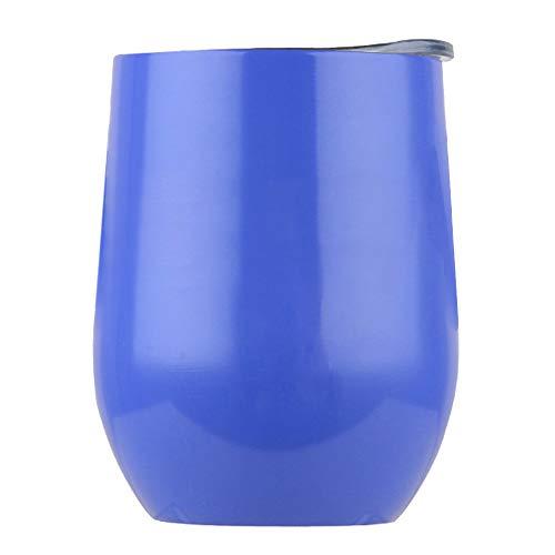 MaxFox Tragbare Wasserflaschen, Edelstahl Weinflasche, ohne Stiel, Vakuumbecher - - Einheitsgröße