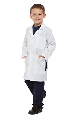 Dress Up America 856 - Unisex Doktor Laborkittel Kinder Kostüm, Medium/8-10 (Kostüme Mit Halloween Laborkittel Einem)
