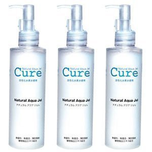 3-pack-of-cure-natural-aqua-gel-250ml-best-selling-exfoliator-in-japan