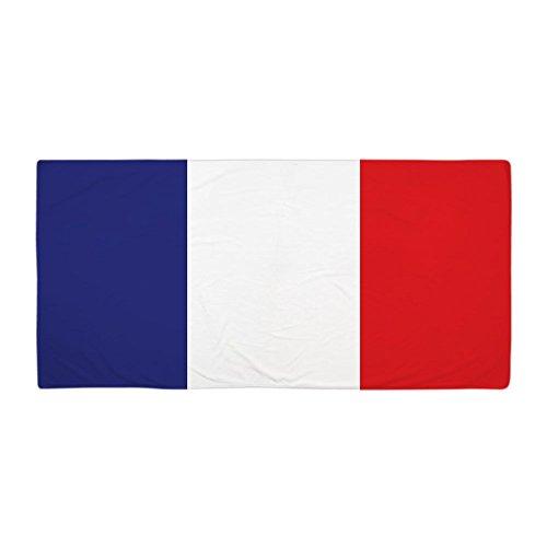 CafePress-Drapeau de la France-Grande Serviette de Plage, Doux 76,2x 152,4cm Serviette de Toilette avec Design Unique