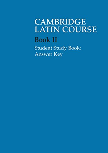 Cambridge Latin Course 2 Student Study Book Answer Key