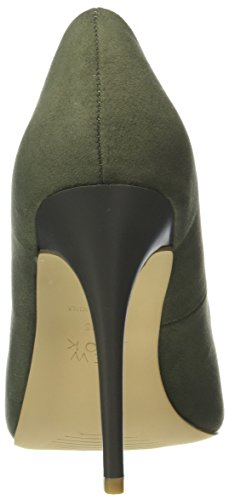 New Look - Scrumptious, Scarpe col tacco Donna Green (Dark Khaki)