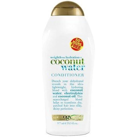 ogx Acondicionador COCO agua hidratación 19.5oz Bono