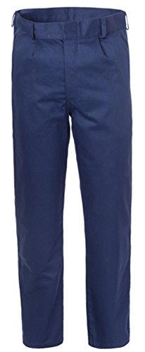 Pantaloni Uomo Da Lavoro Uomo Da Officina / Operaio In Blu Ce I A00121 (50)