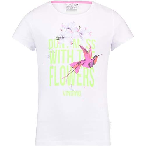Vingino Girls Shirt Hellen, Fb. Real White (Gr. 14/164)